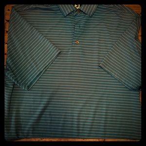 Men's foot joy golf shirt sz L